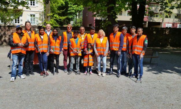 Mit Migranten & Flüchtlingen bei den Dreck-Weg-Wochen