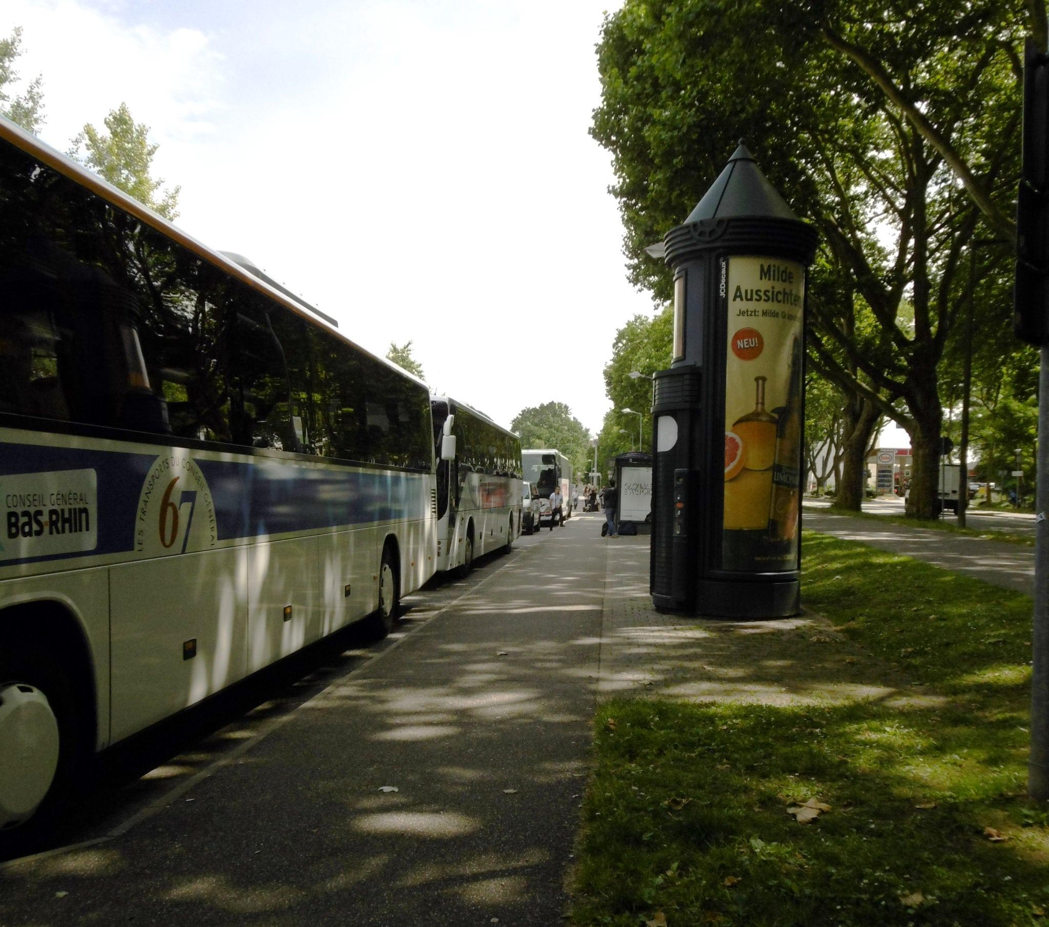 Entlastung der Herrenalber Straße vom Busverkehr