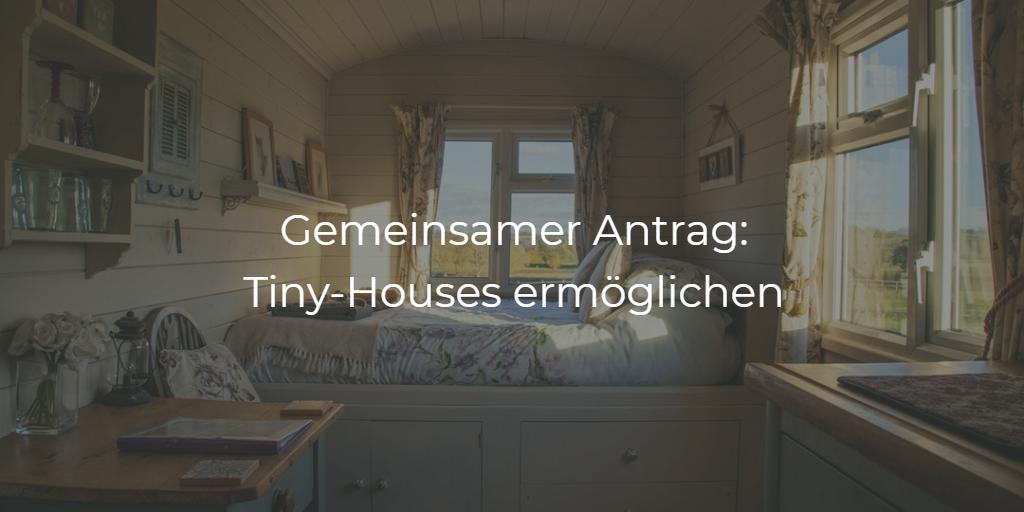 Antrag: TinyHouses in Karlsruhe
