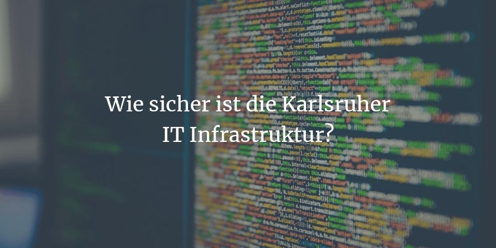 Ist auf Karlsruher IT verlass?
